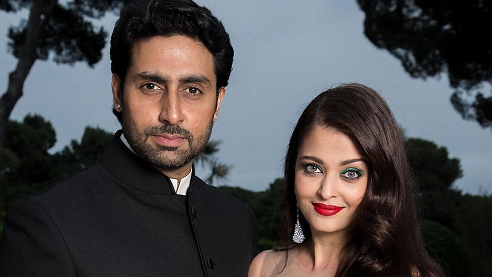Aishwarya and Abhishek visit Siddhivinayak at their 10th wedding anniversary