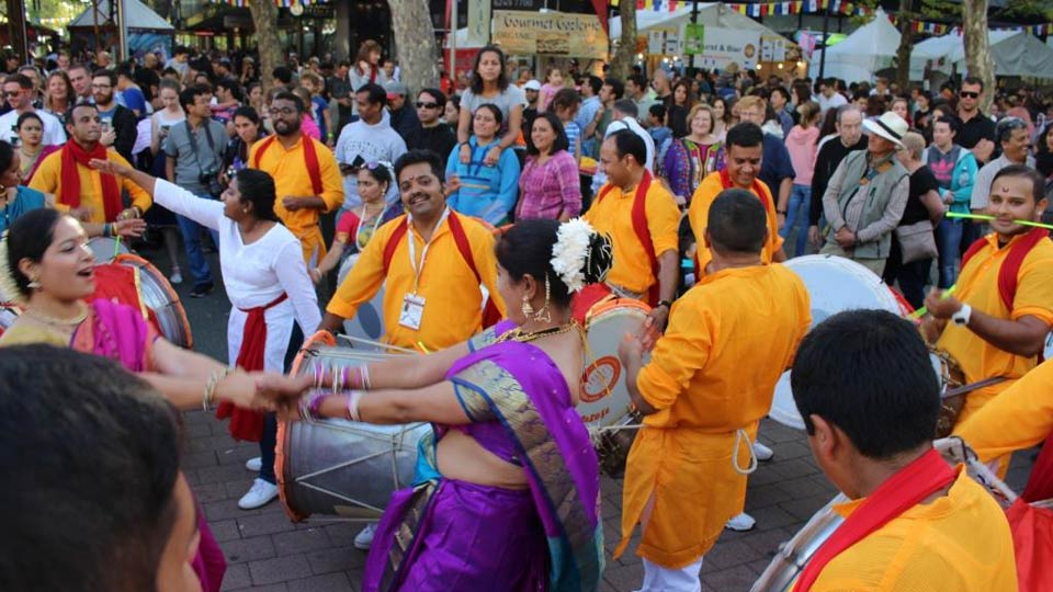 National Multicultural Festival parade