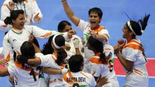 Indian women strong ahead