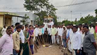Cleanliness campaign on the occasion of Independence Day
