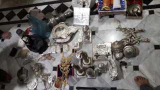 Theft of 8.5 lakhs of jewelery in jain temple