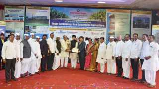 Best Cooperative Sugar Factory Award to Bhimashankar Factory Pargaon Pune