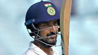 Cheteshwar_Pujara Kolkata Test 2017