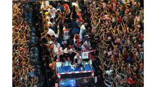 Croatia celebrates football team's victory