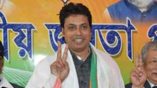 Internet Service is From Mahabharat says Tripura CM Viplav Dev