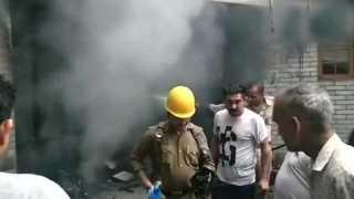 Five people killed in cylinder blast
