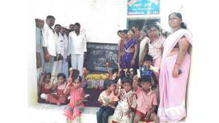 Distribute nutrition diet to children in Anganwadi of Fulambri