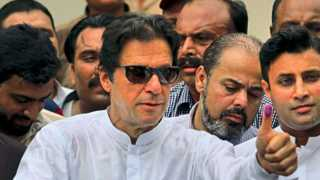 India is arrogant and negative says Imran Khan