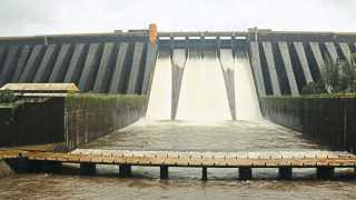 Koyana Dam Water