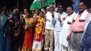 Marathi News Amravati News City Council Elections Congress win