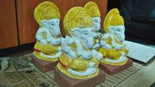 Eco friendly Ganesh Festival remains only on paper
