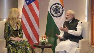 Ivanka Trump, Narendra Modi