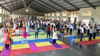 International Yoga Day At Loni Kalbhor
