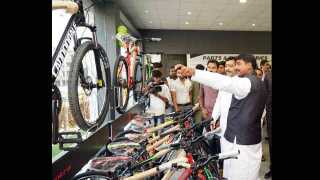 International level cycle centre at Manchar pune