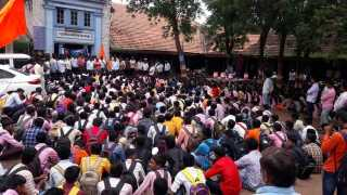 Maratha community stance agitation
