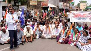 Rasta Roko Agitation At Nandgaon