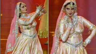 Actrees Rekha performed at IIFA after twenty years