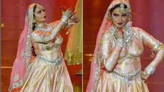 Actrees Rekha performed at IIFA after twenty years