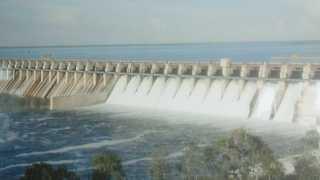 Marathi News Solapur News Drone Camera irrigated area on the Ujni dam
