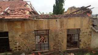 Accidental hazard due to dilapidated school buildings