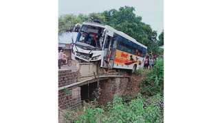 Shivshahi bus accident in latur