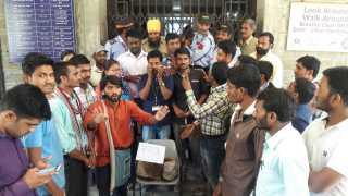 aurangabad babasaheb ambedkar marathawada university student protest