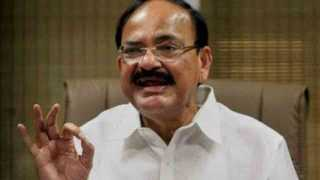 Vice President Venkaiah Naidu interacted with reporters after baramati meet