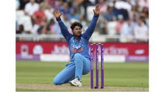 Kuldeep yadav creates new record in England