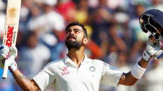 Virat Kohli's century is India's way to the big lead