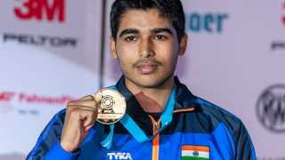Sixteen year old farmer's son win gold