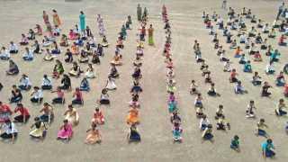 International yoga day at bhigwan