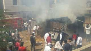 Karad Kazi wada Area Godawn Huge Fire
