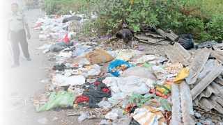 हिंजवडी - जयरामनगर परिसरातील कचरा.