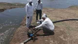 Krushnapuri Water Theft Pump have been seized