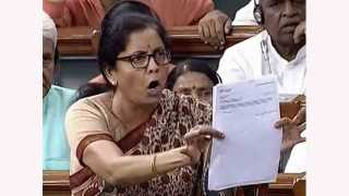 The Congress had made a confidentiality agreement Nirmala Sitharaman Claimed