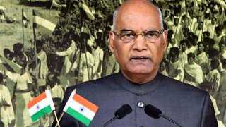The country is growing rapidly says President Kovind