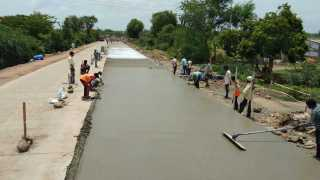 The work of Sangola-Pandharpur National Highway started on the war-footing