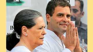 सोनिया गांधी आणि राहुल गांधी.