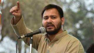 Tejaswi Yadav Criticizes RSS and Vijay Rupani