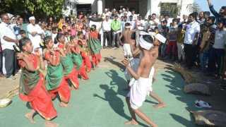 choundhane village first prize for gram swachata abhiyan