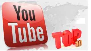 Youtube-Top-10 videos