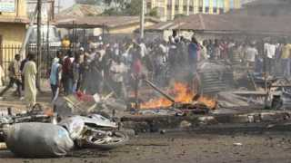 International News Nigeria Suicide Bomber 19 death
