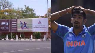 Jasprit Bumrah Upset With Jaipur Police Ad Taking A Dig At His No-Ball