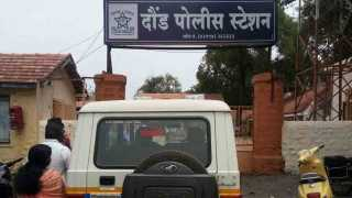 Two groups clash inside police station in Daund five arrested