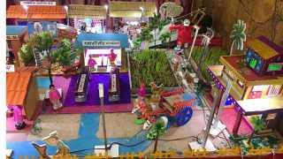 Punes Senior Citizen decorates a village on the occasion of ganesh festival