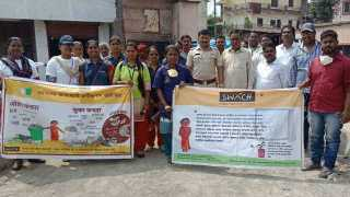 Public awareness for waste management at manjari