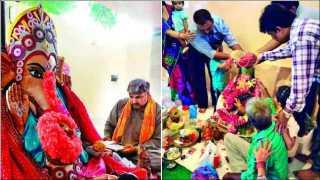 Maharashtrian community celebrate Ganeshotsav karachi in Pakistan