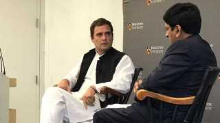 Job creation India's biggest challenge: Rahul Gandhi at Princeton