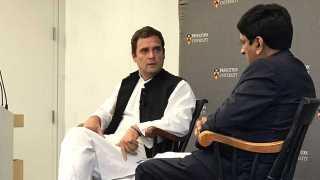 Job creation India's biggest challenge: Rahul Gandhi at Princeton