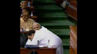 rahul gandhi hug narendra modi